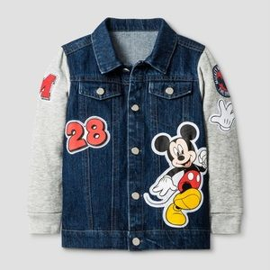 Mickey Mouse Jean Jacket